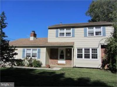 Cherry Hill Single Family Home For Sale: 3505 Church Road