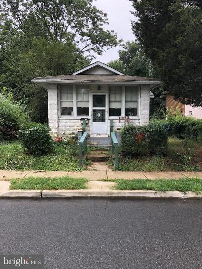 Somerdale Single Family Home For Sale: 209 Garden Avenue