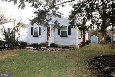 Voorhees Single Family Home For Sale: 1180 Kirkwood Gibbsboro Road