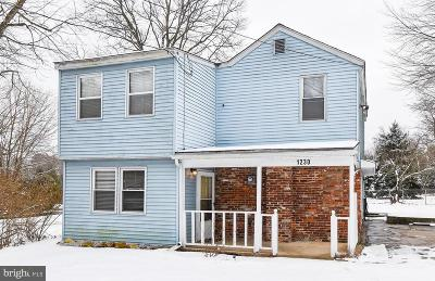 Sicklerville Single Family Home For Sale: 1230 Jarvis Road