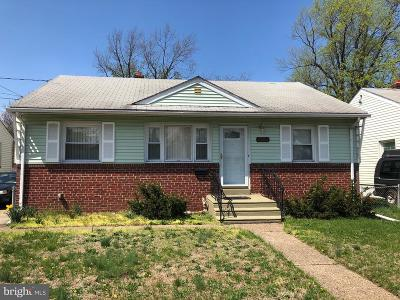Pennsauken Single Family Home For Sale: 6123 Amon