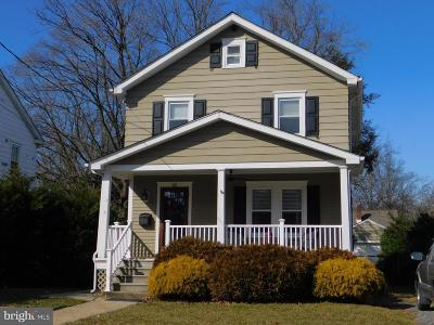Cherry Hill Single Family Home For Sale: 32 Conwell
