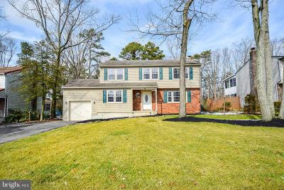 Sicklerville Single Family Home For Sale: 15 York Terrace