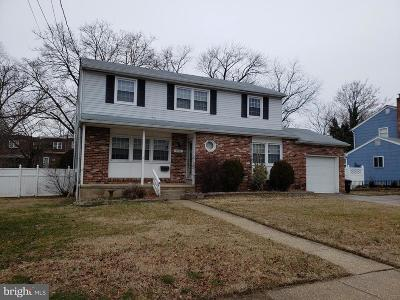 Pennsauken Single Family Home For Sale: 5315 Walton