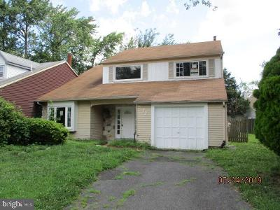Voorhees Single Family Home For Sale: 72 Wynnewood Drive