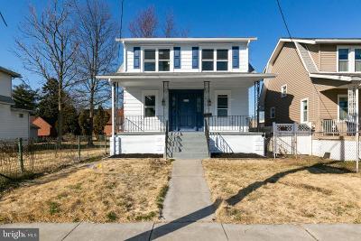 Mount Ephraim Single Family Home For Sale: 14 Nicholson Road