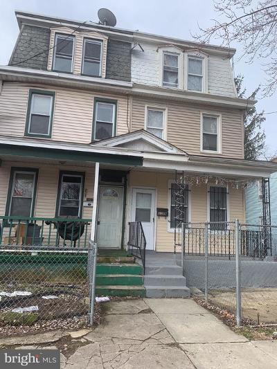 Camden Single Family Home For Sale: 1029 N 23rd Street