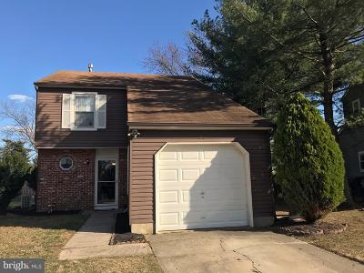 Voorhees Single Family Home Under Contract: 140 Peregrine Drive