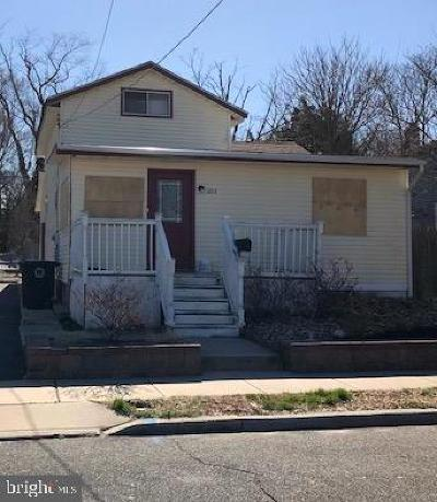 Lindenwold Single Family Home For Sale: 1213 Scott Avenue