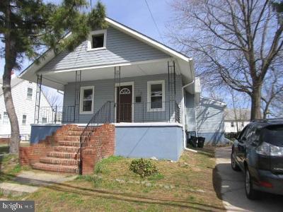 Mount Ephraim Single Family Home For Sale: 16 Baird Avenue