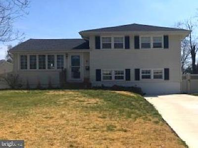 Gibbsboro Single Family Home For Sale: 7 Clearbrook Drive