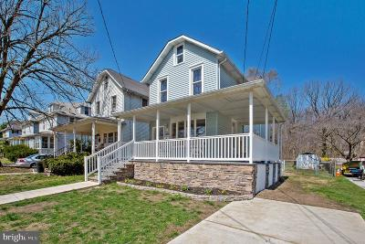 Laurel Single Family Home For Sale: 1000 Chestnut Avenue