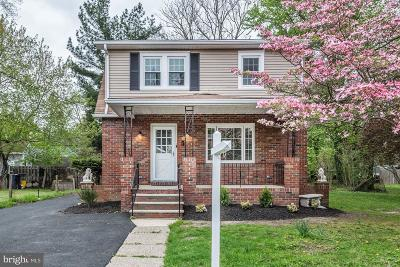Voorhees Single Family Home For Sale: 5 Atlantic Avenue