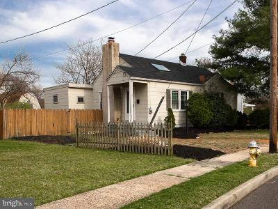 Cherry Hill Single Family Home Active Under Contract: 10 Winding Way