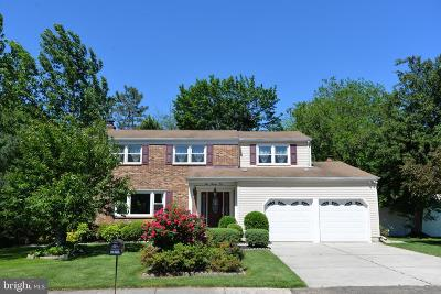 Cherry Hill Single Family Home For Sale: 409 Castle Drive