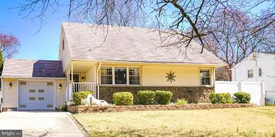 Cherry Hill Single Family Home Under Contract: 1520 Burnt Mill Road