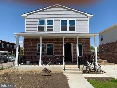 Camden Single Family Home For Sale: 915 Jackson St