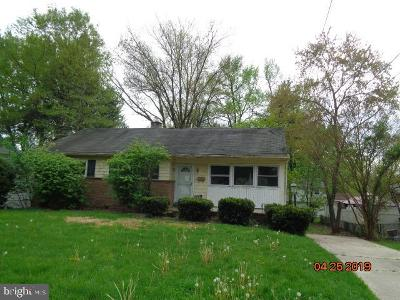Cherry Hill Single Family Home For Sale: 116 Chapel Ave E