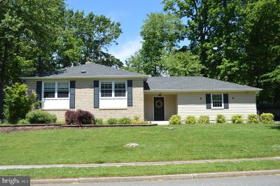 Cherry Hill Single Family Home For Sale: 517 Garwood Drive