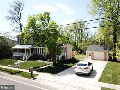 Voorhees Single Family Home For Sale: 1904 S Burnt Mill Road