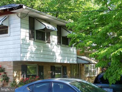 Cherry Hill Single Family Home For Sale: 412 Columbia Boulevard