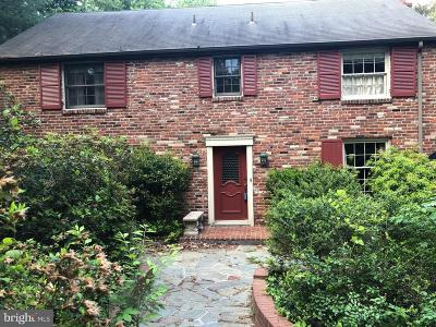 Cherry Hill Single Family Home For Sale: 106 W Riding Road