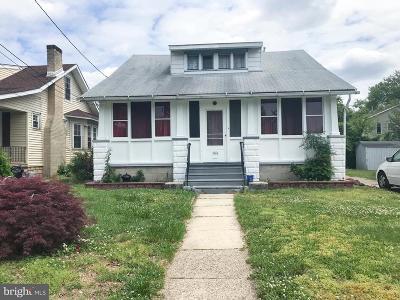 Pennsauken Single Family Home For Sale: 1666 Browning Road
