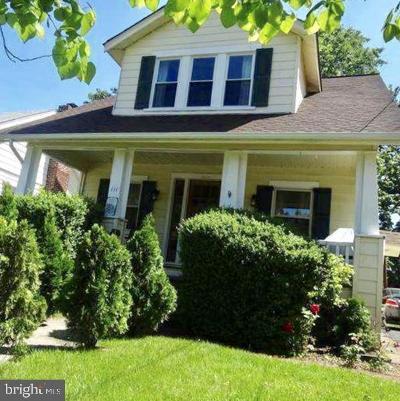 Oaklyn Single Family Home For Sale: 111 Manheim Avenue