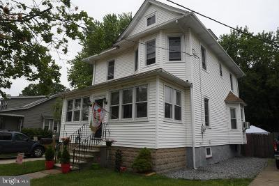 Cherry Hill, Marlton, Evesham Twp, Voorhees, Haddon Heights, Haddonfield, Haddon Township, Collingswood, Audubon, Mount Laurel, Moorestown, Maple Shade Single Family Home For Sale: 5 W Narberth Terrace