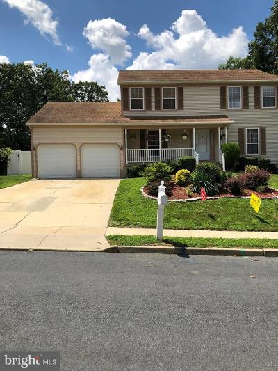 Sicklerville Single Family Home For Sale: 10 Crisfield Road
