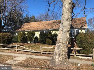 Pennsauken Single Family Home For Sale: 2122 Horner Avenue