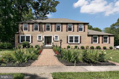 Cherry Hill Single Family Home For Sale: 1767 Tearose Lane