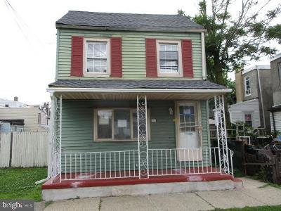 Gloucester City Single Family Home Under Contract: 111 N Sussex Street