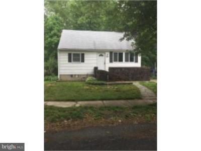 Cherry Hill Single Family Home For Sale: 605 Kenilworth Avenue
