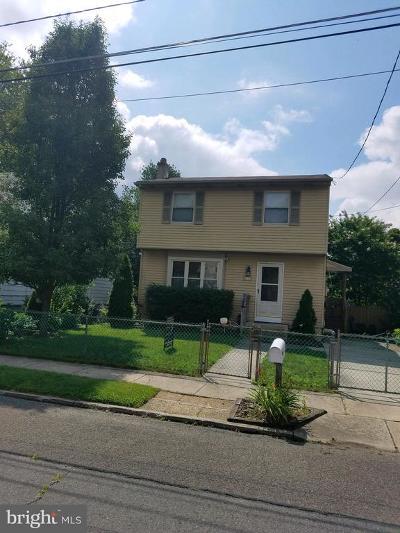 Pennsauken Single Family Home For Sale: 8550 Stockton