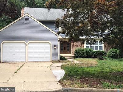 Voorhees Single Family Home For Sale: 8 Wyndham Road
