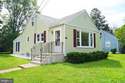 Voorhees Single Family Home For Sale: 13 Bergen Avenue