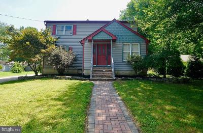 Voorhees Single Family Home For Sale: 219 Bergen Avenue