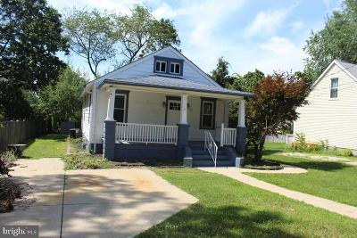 Berlin Single Family Home Under Contract: 10 Linden Avenue