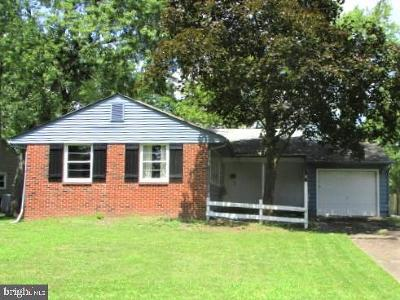 Cherry Hill Single Family Home For Sale: 1115 Cooperskill Road