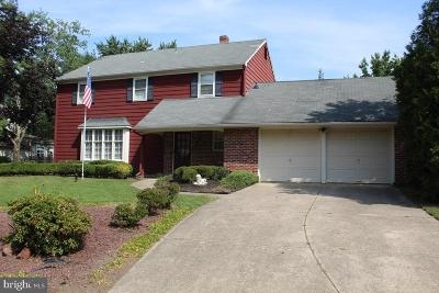 Cherry Hill Single Family Home For Sale: 69 Partridge Lane