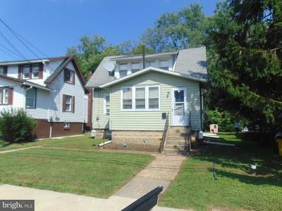 Pennsauken Single Family Home For Sale: 5314 Lexington Avenue