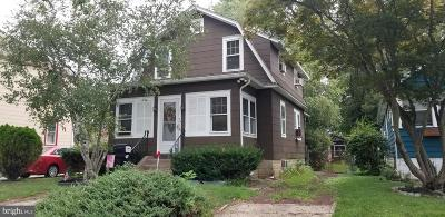 Oaklyn Single Family Home For Sale: 117 Reading Avenue