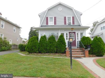 Oaklyn Single Family Home For Sale: 33 E Collingswood Avenue