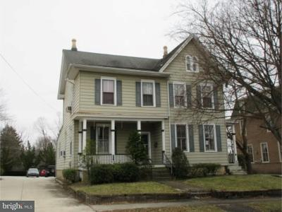 Woodbury Heights Single Family Home For Sale: 52 Euclid Street
