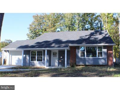Turnersville Single Family Home For Sale: 721 Shawnee Road