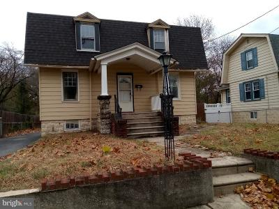 West Deptford Twp Single Family Home For Sale: 1043 Milton Avenue