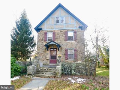 Wenonah Single Family Home For Sale: 304 W Mantua Avenue