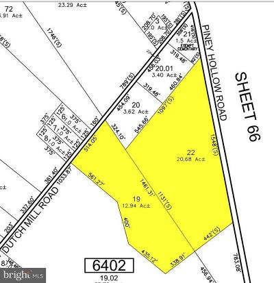Newfield Residential Lots & Land For Sale: Lot 22 And 19 Piney Hollow And Dutch Mill Road