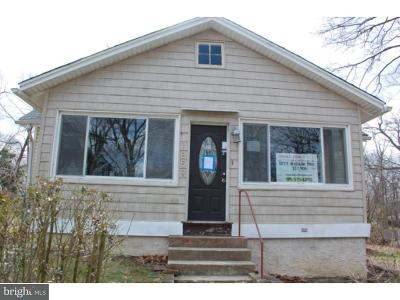 Deptford Twp Single Family Home Under Contract: 1859 Hillside Avenue